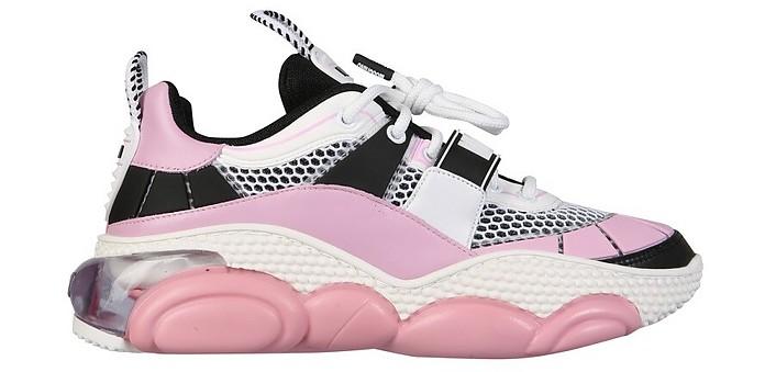 Teddy Pop Running Sneakers - Moschino