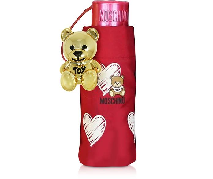 Hearts and Bears Supermini Umbrella - Moschino