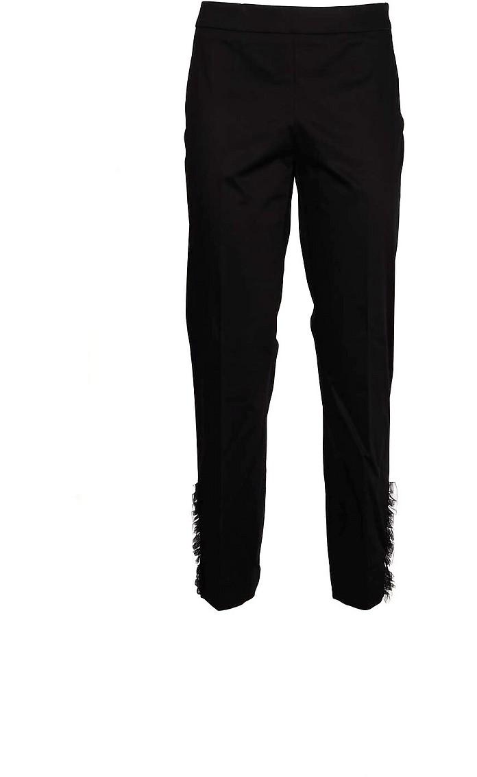 Women's Black Pants - Moschino