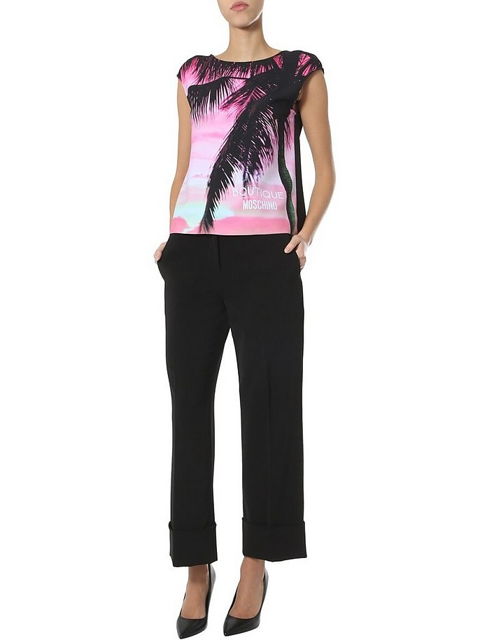 Wide Trousers - Moschino
