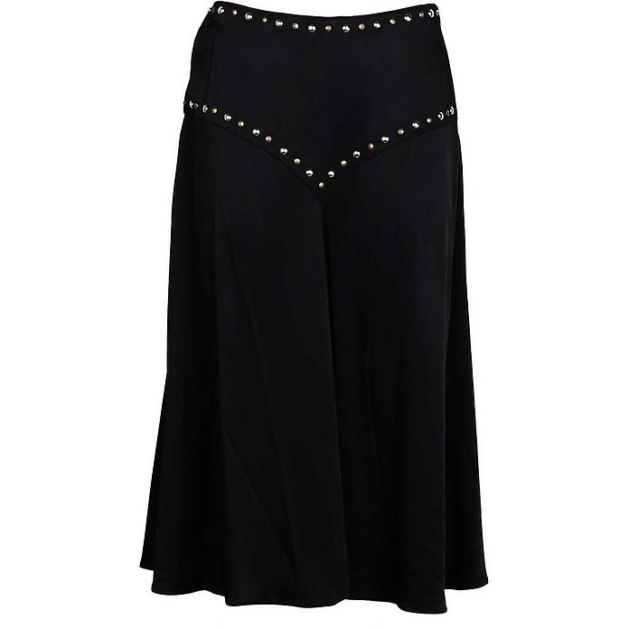 Women's Black Skirt - Moschino