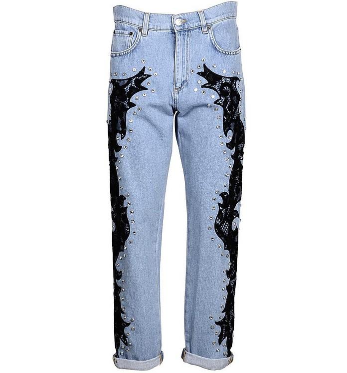 Women's Blue Jeans - Moschino