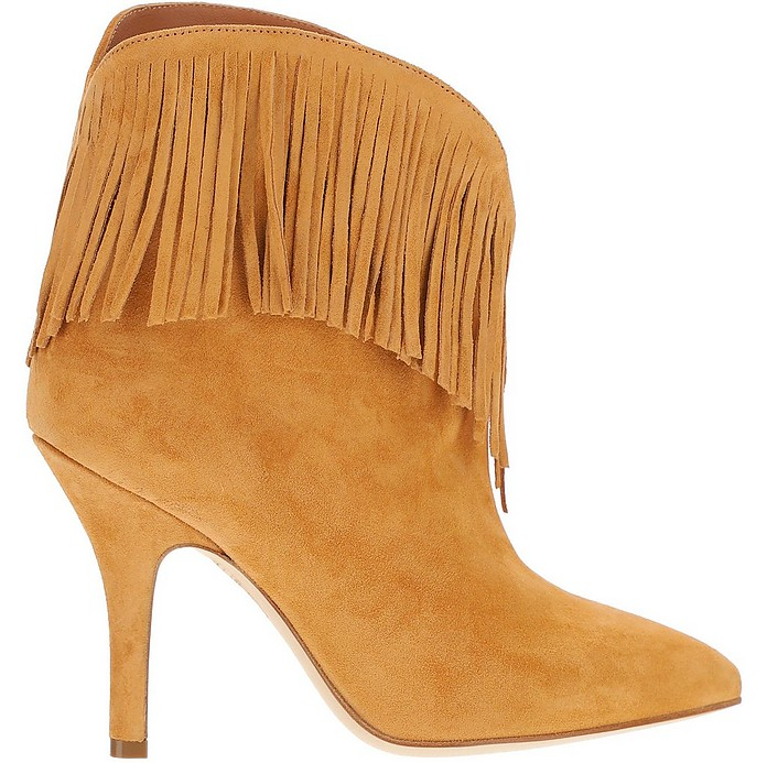 Brown Ankle Boots - Paris Texas