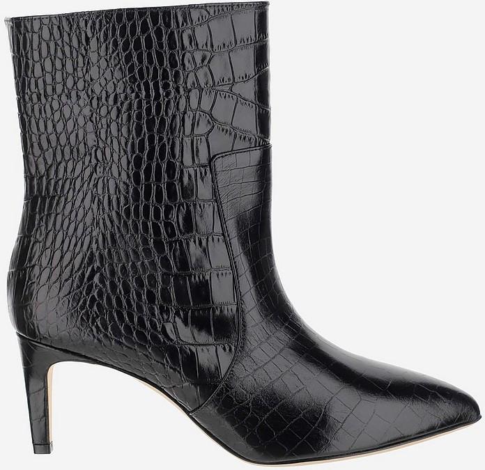Black Ankle Boots - Paris Texas