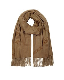 Wsklaus Scarf w/ Fringes