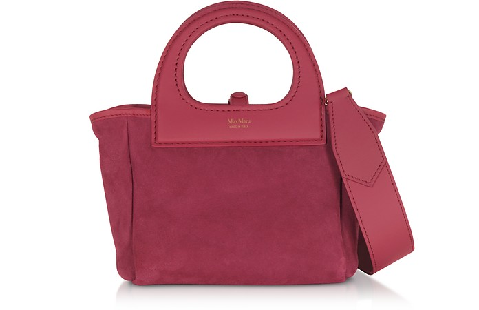 Two-Tone Reversible Nano Top Handle Bag - Max Mara