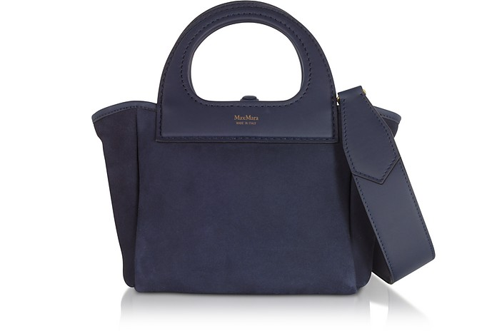 Two-Tone Reversible Nano1 Top Handle Bag - Max Mara