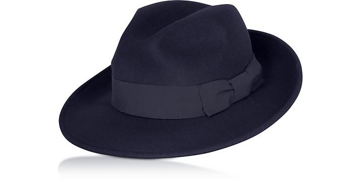 Navy Blue Brunico Hat - Max Mara