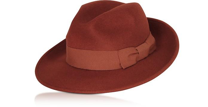 Rust Brunico Hat - Max Mara