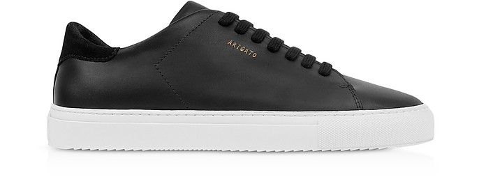 Clean 90 Black Leather Women's Sneakers - Axel Arigato