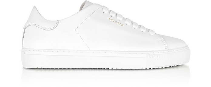 Clean 90 White Leather Women's Sneakers - Axel Arigato