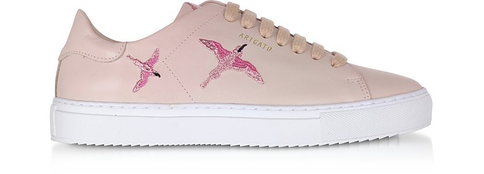 Clean 90 Bird Dusty Pink Leather Women's Sneakers - Axel Arigato / アクセルアリガト