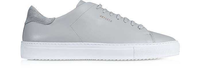 Clean 90 Light Grey Leather Men's Sneakers - Axel Arigato