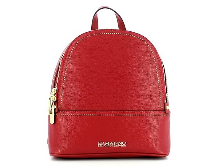 Women's Red Backpack - Ermanno Scervino