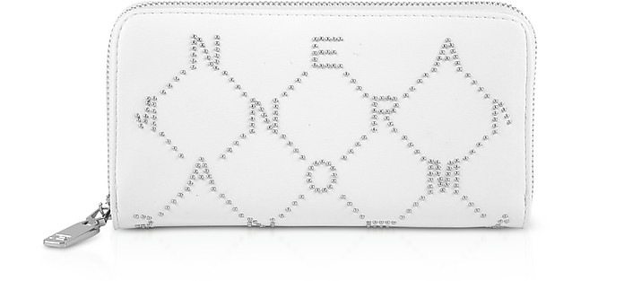Signature Zip Around Continental Wallet - Ermanno Scervino