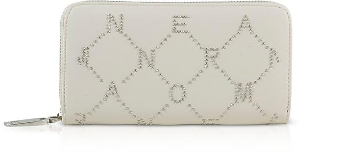 Signature Zip Around Continental Wallet - Ermanno Scervino