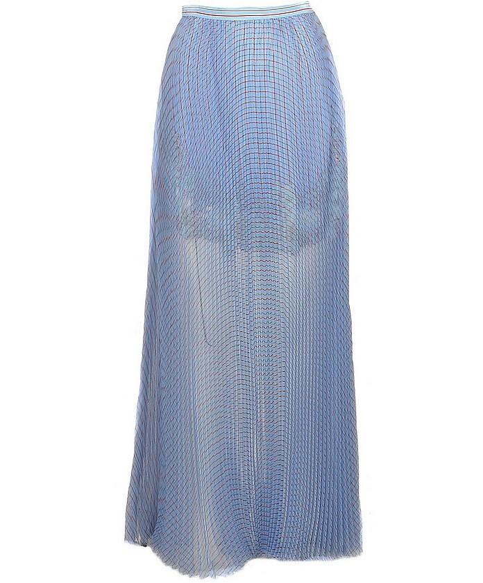 Women's Sky Blue Skirt - Ermanno Scervino