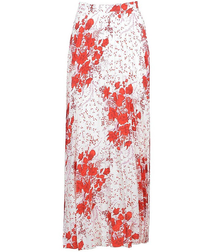 Women's White / Red Skirt - Ermanno Scervino