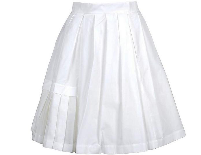 Women's White Skirt - Ermanno Scervino