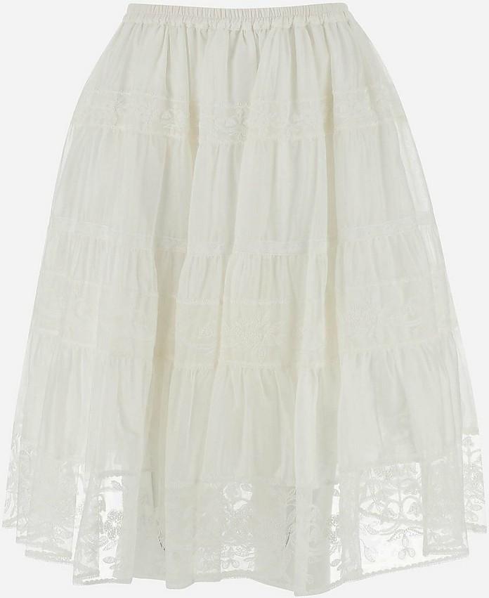 Women's Mini_Skirt - Ermanno Scervino