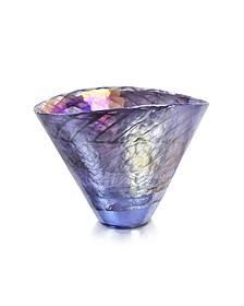Agadir - Purple Murano Glass Vase - Yalos Murano