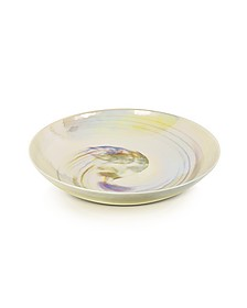 Fossili - Ivory Mother of Pearl Effect Murano Glass Centerpiece - Yalos Murano