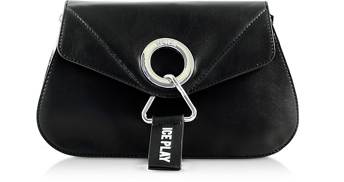 Oversize Metal Eyelet Clutch - Ice Play