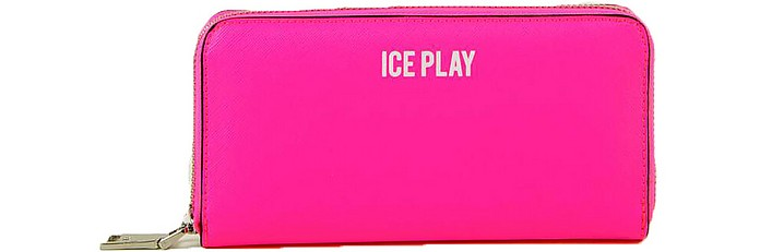 Women's Fuchsia Wallet - Ice Play
