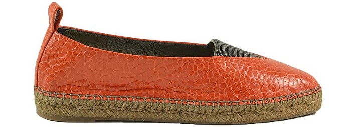 Women's Orange Shoes - Brunello Cucinelli