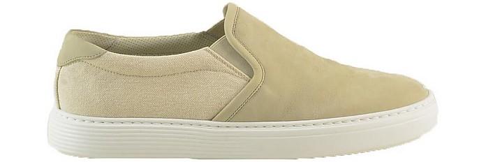 Men's Beige Shoes - Brunello Cucinelli