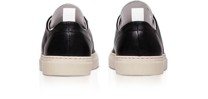 in Uomo White da Low 39 amp EU Top Sorrento Sneakers Pelle 39 Black Ylati 6ZwnEx
