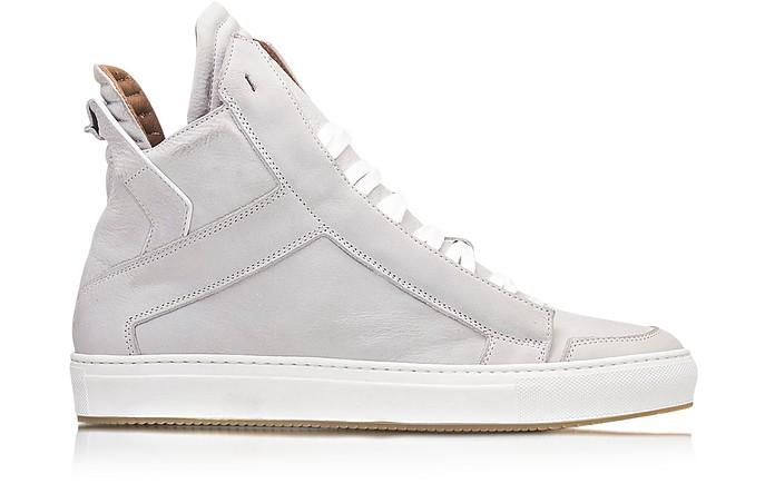 Zeus Upper White Men's Sneaker - Ylati