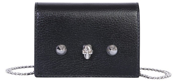 Mini Bag With Skull And Studs - Alexander McQueen