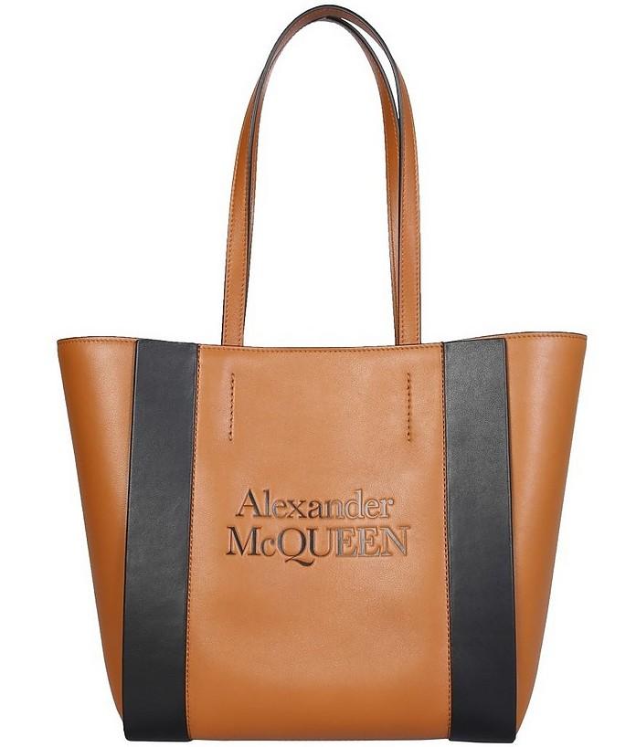 Small Signature Shopping Bag - Alexander McQueen