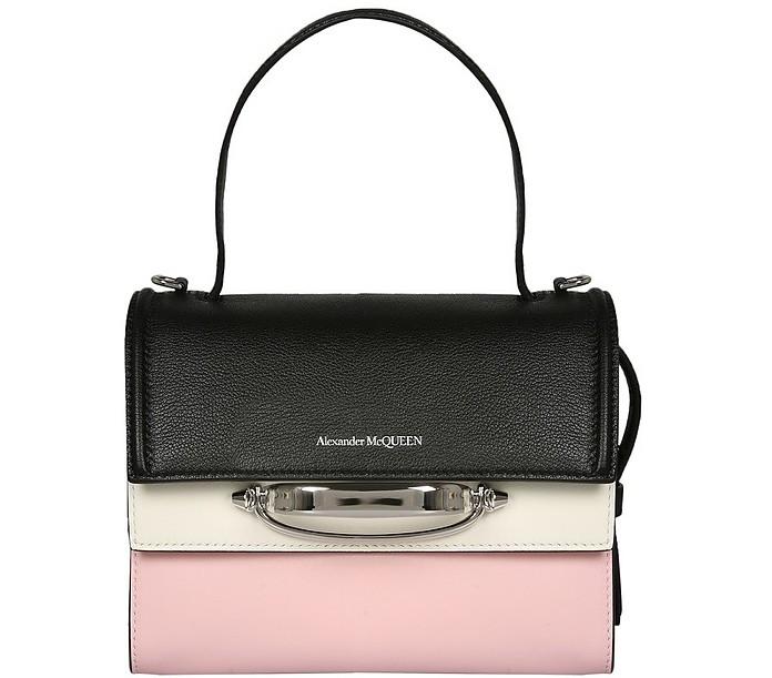 The Story Color Block Shoulder Bag - Alexander McQueen