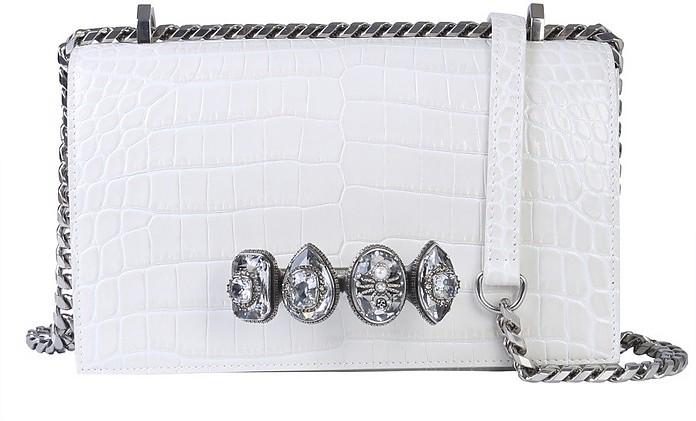 Jeweled Spider Satchel Bag - Alexander McQueen