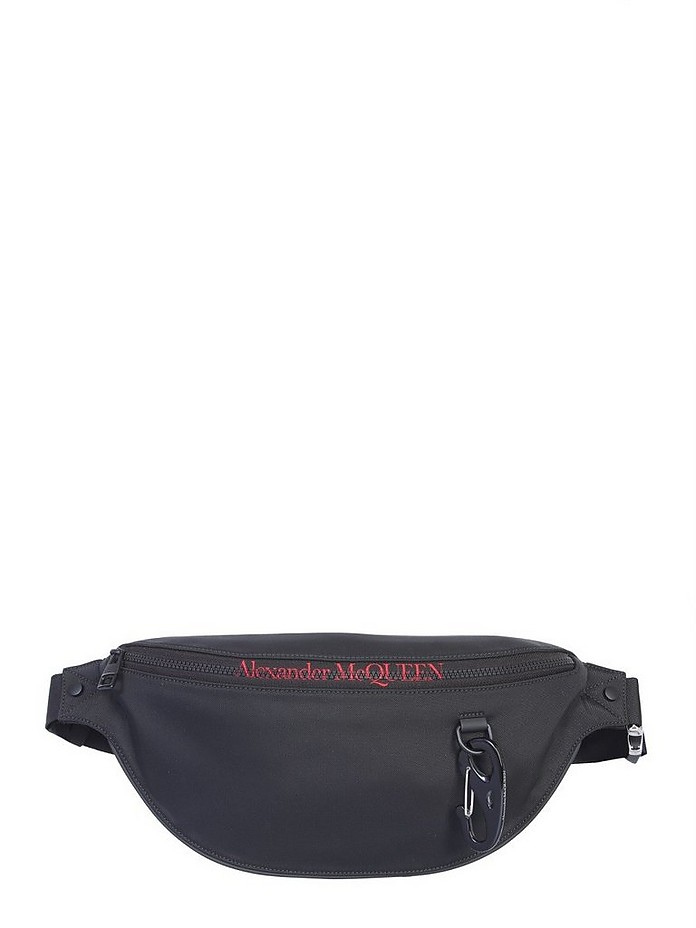 Pouch With Logo - Alexander McQueen
