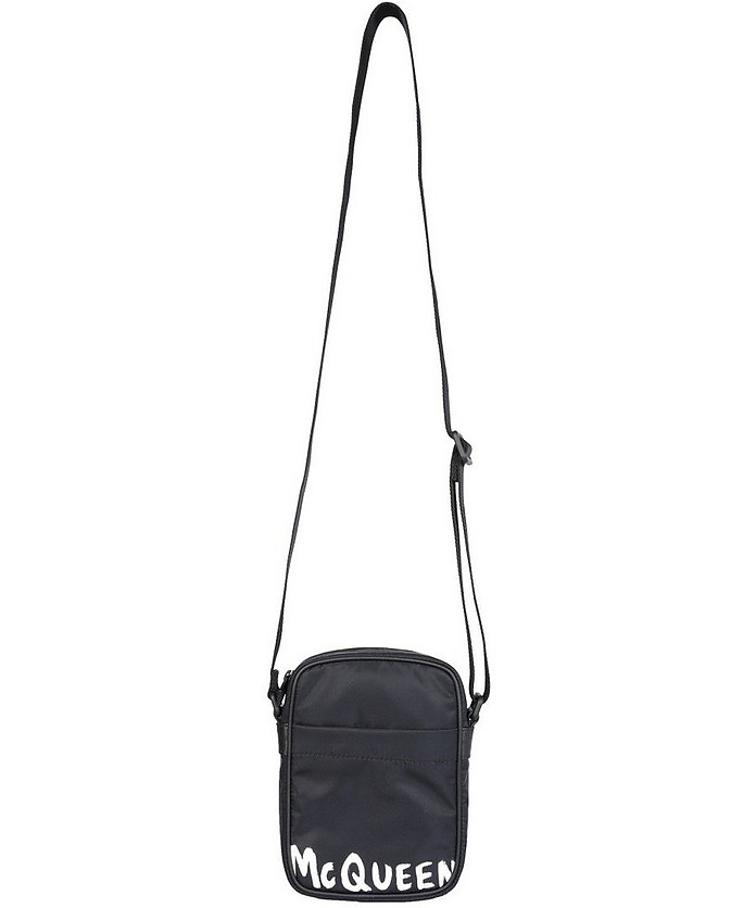 Shoulder Bag With Logo - Alexander McQueen