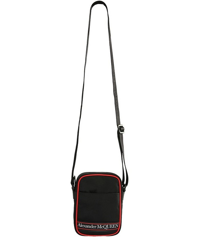 Crossbody Bag With Logo - Alexander McQueen