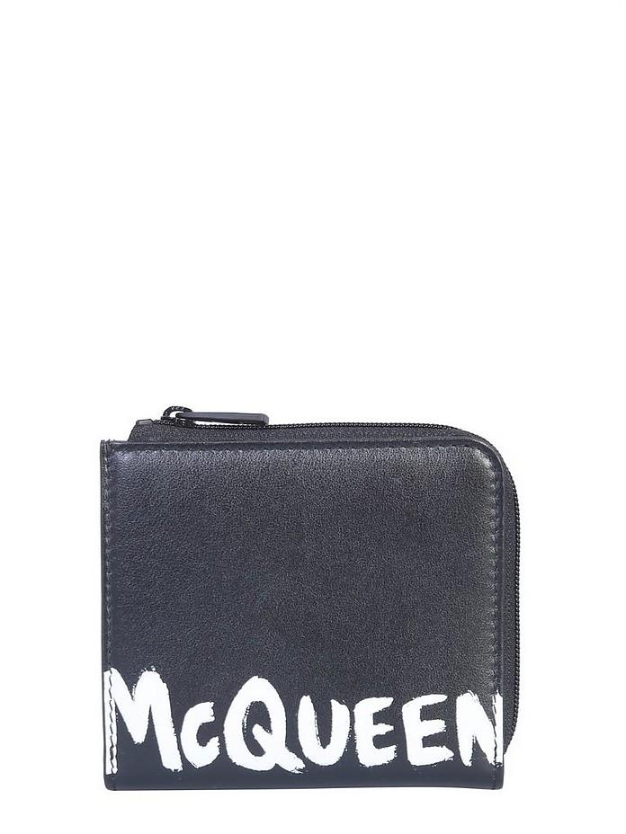 Wallet With Logo - Alexander McQueen