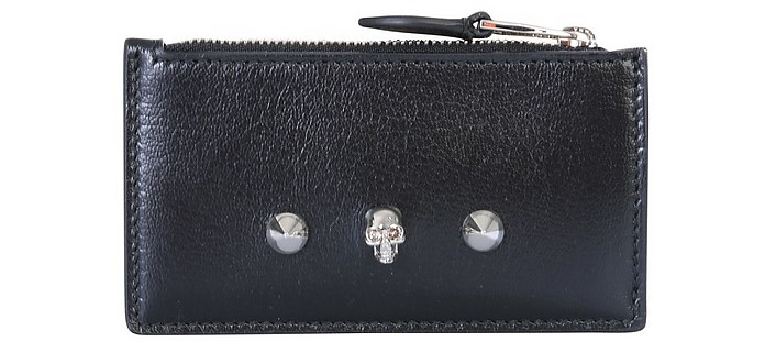 Card Holder With Skull - Alexander McQueen