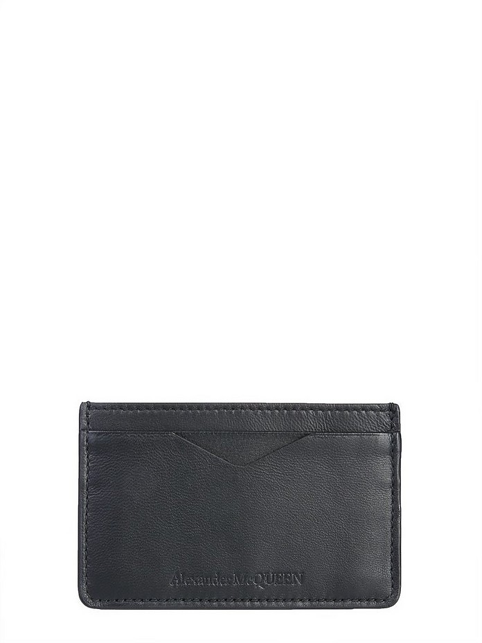Leather Card Holder - Alexander McQueen
