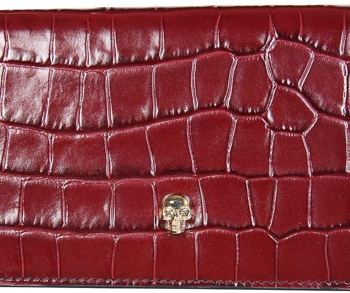 Wallet With Skull Chain - Alexander McQueen