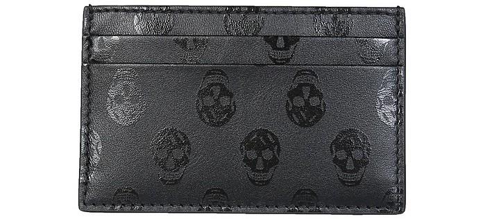 Biker Skull Card Holder - Alexander McQueen