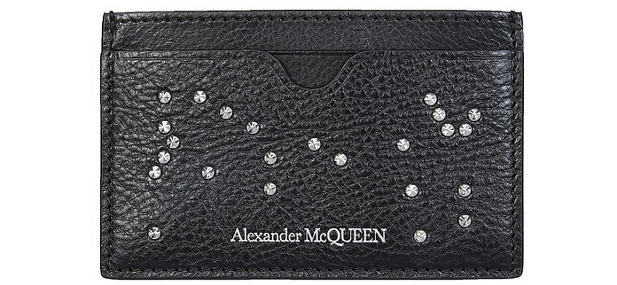 Card Holder With Studs - Alexander McQueen