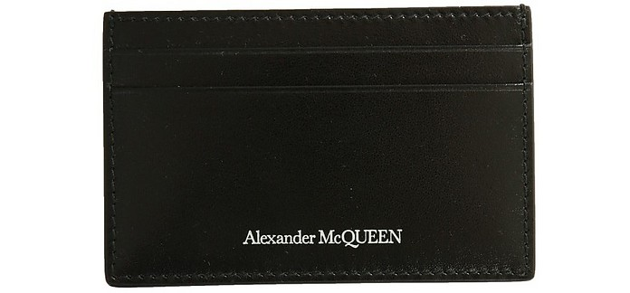 Card Holder With Logo - Alexander McQueen