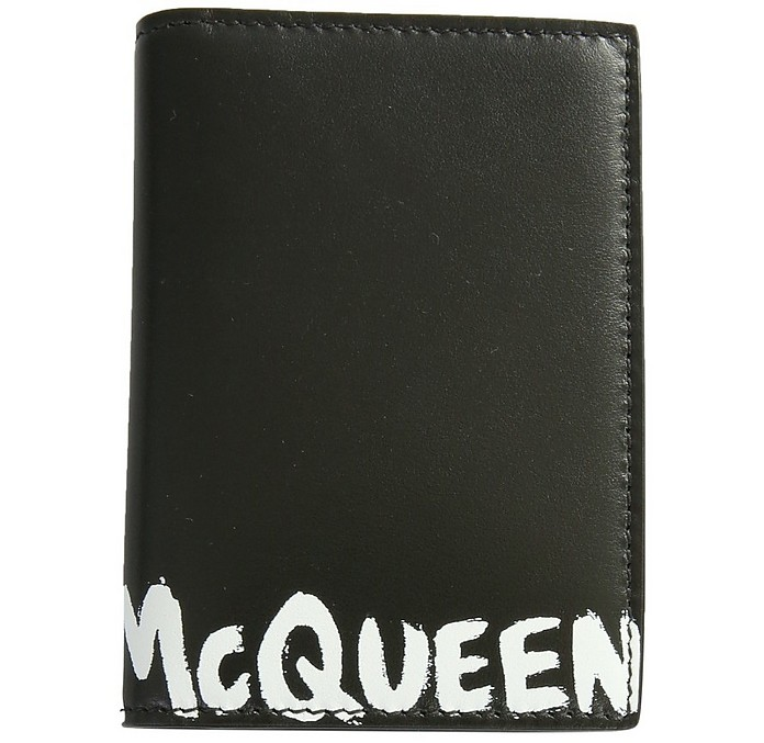 Wallet With Logo - Alexander McQueen
