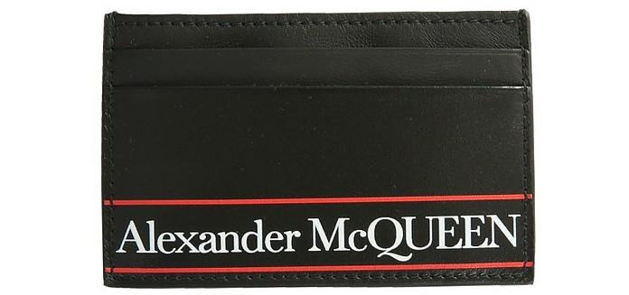 Card Holder With Logo - Alexander McQueen