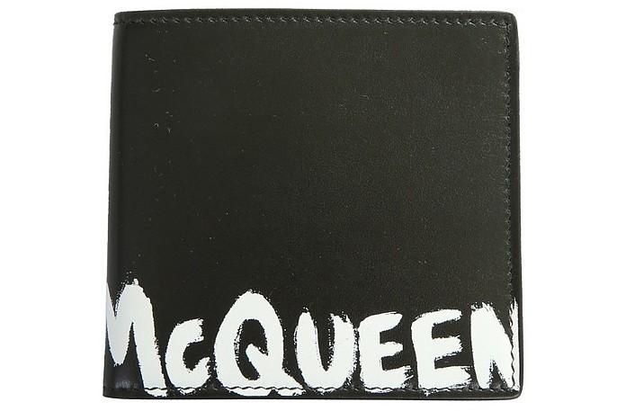 Bifold Wallet With Logo - Alexander McQueen