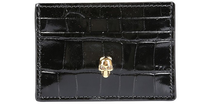 Card Holder With Skull - Alexander McQueen / アレキサンダーマックイーン